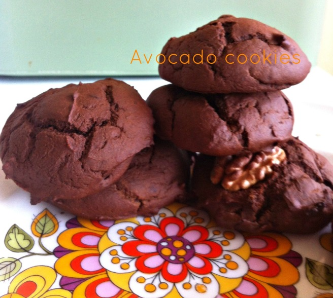 avocado cookies 1